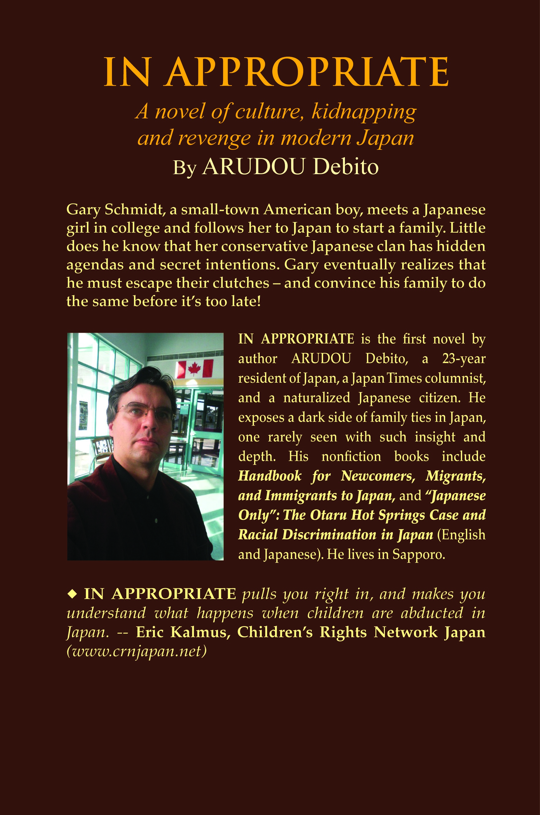 Debito Arudou Dave Aldwinckle s Publications
